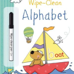 Wipe Clean Alphabet | Paperback