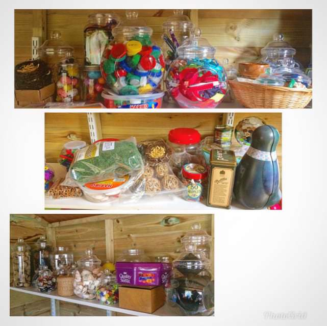 Guest Blog by Childminder Claire Wilson – An Insight to Loose Parts Storage
