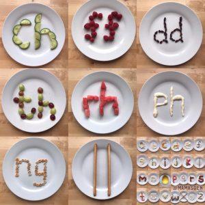 Healthy Snack Alphabet